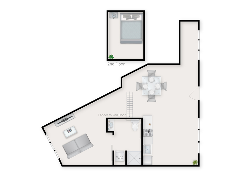 Loft A Type 2 Floor Plan