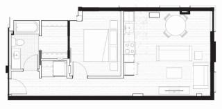 D-1 Floor Plan