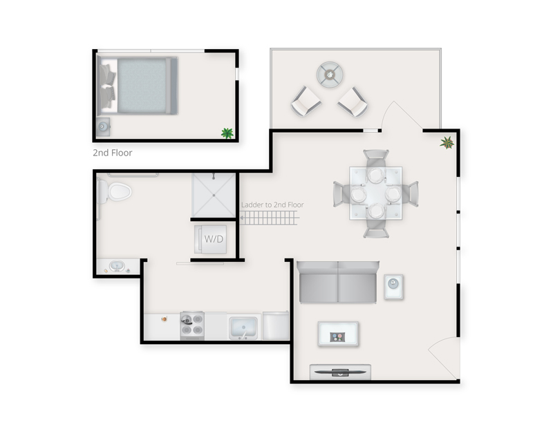 Loft B Floor Plan