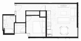 D-2@WD Floor Plan