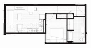 B- Type A Floor Plan