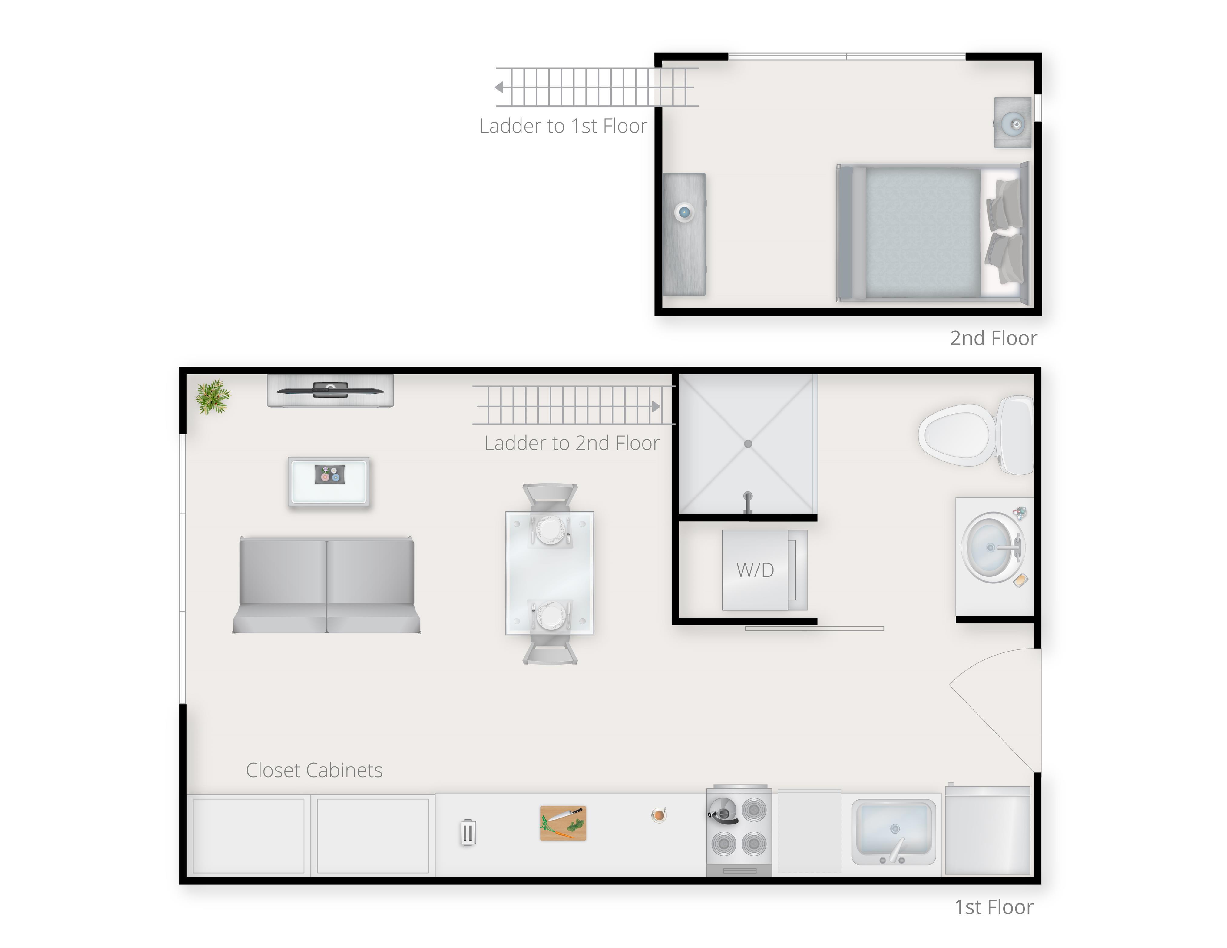 Loft A Floor Plan