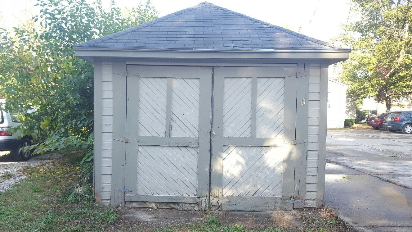 220 N. Hamilton St. Garage Exterior