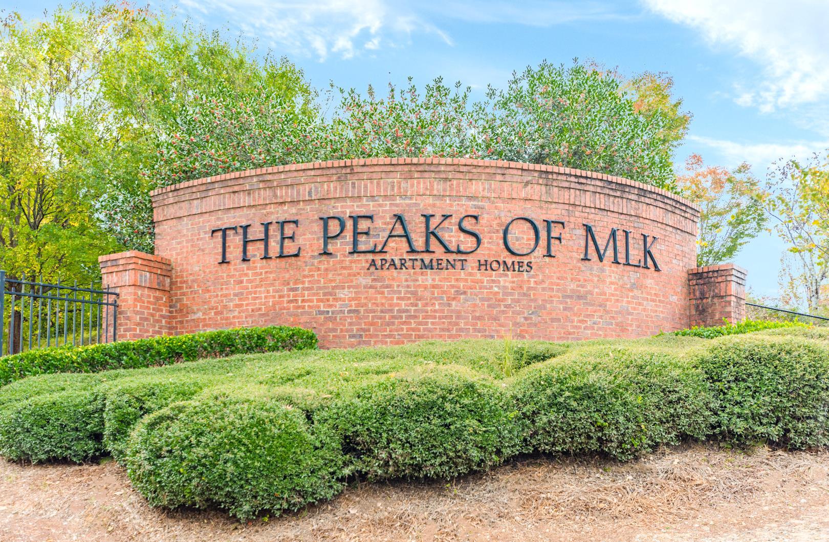 Peaks at MLK