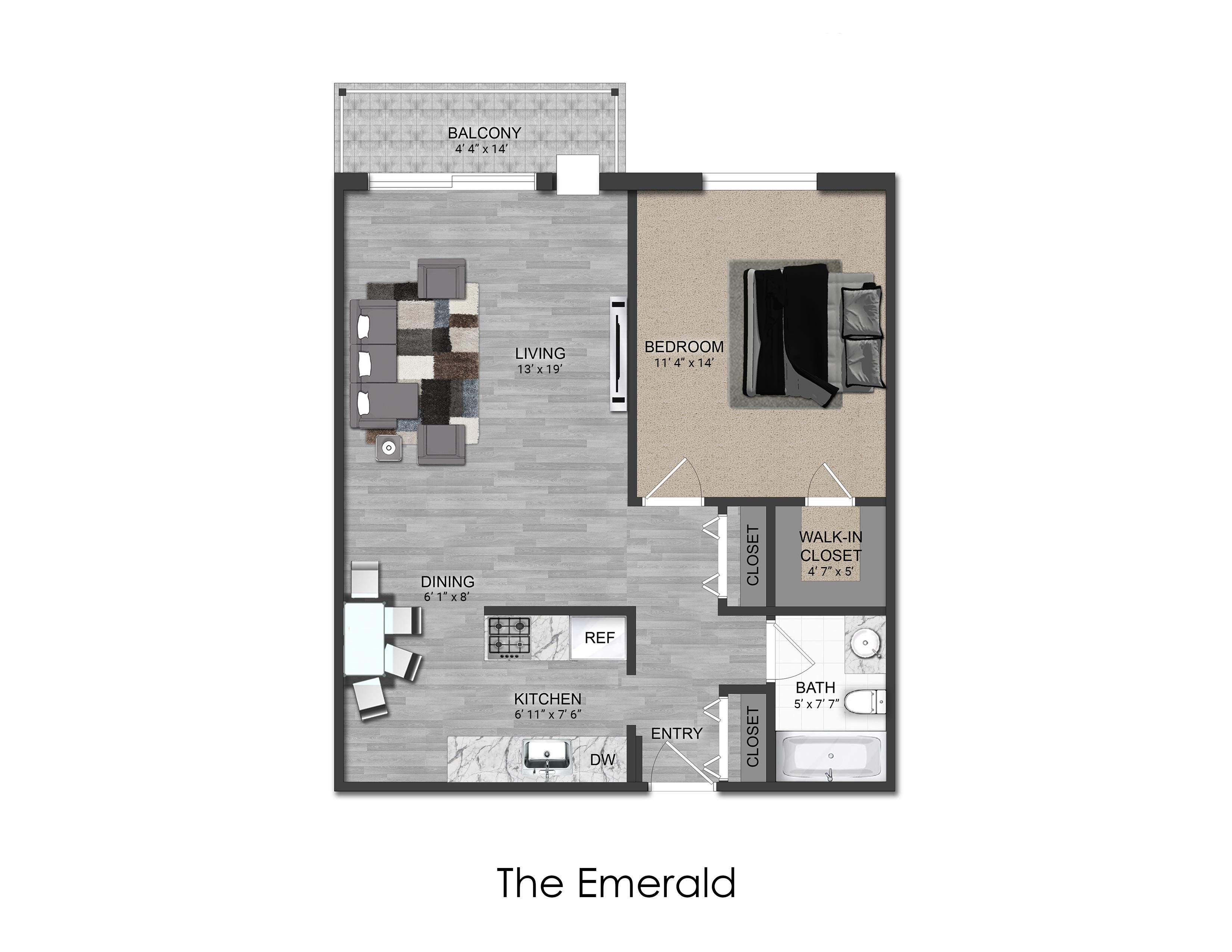 Image of Unit Floorplan layout