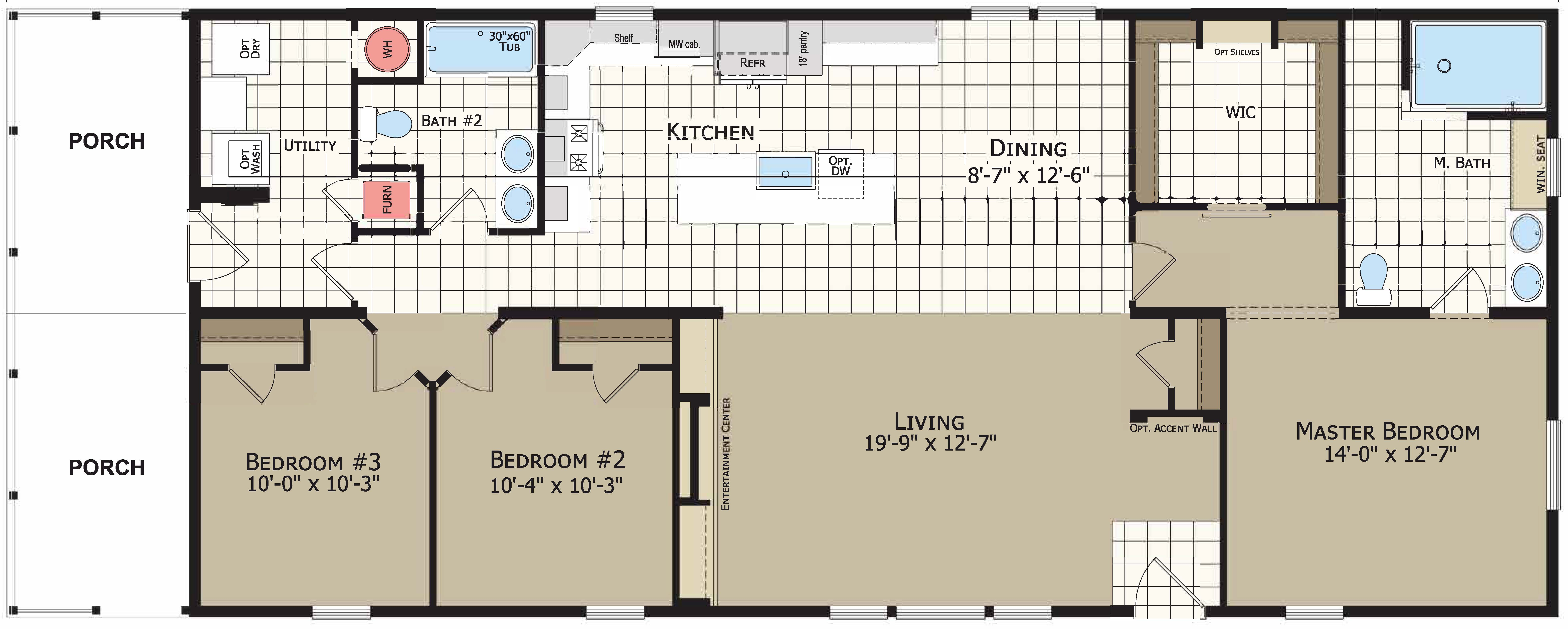 floorplan image for unit 332