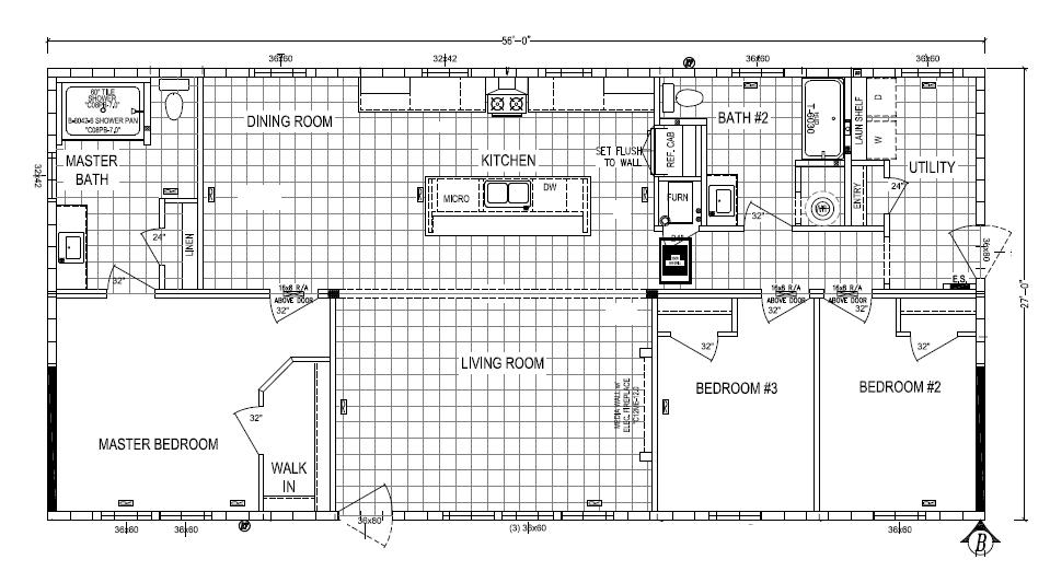 floorplan image for unit 336