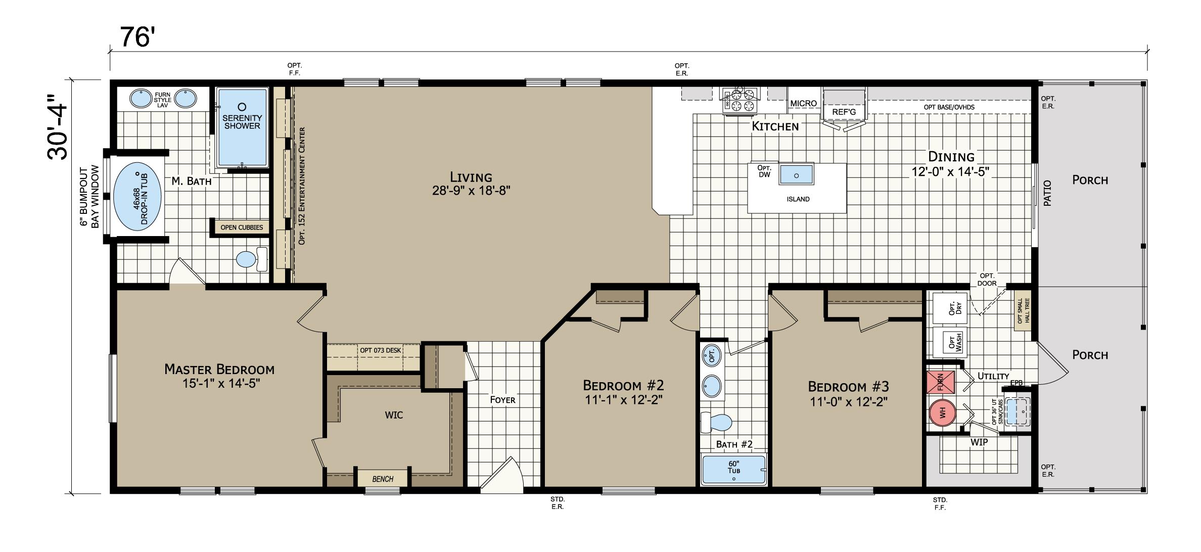 floorplan image for unit 383