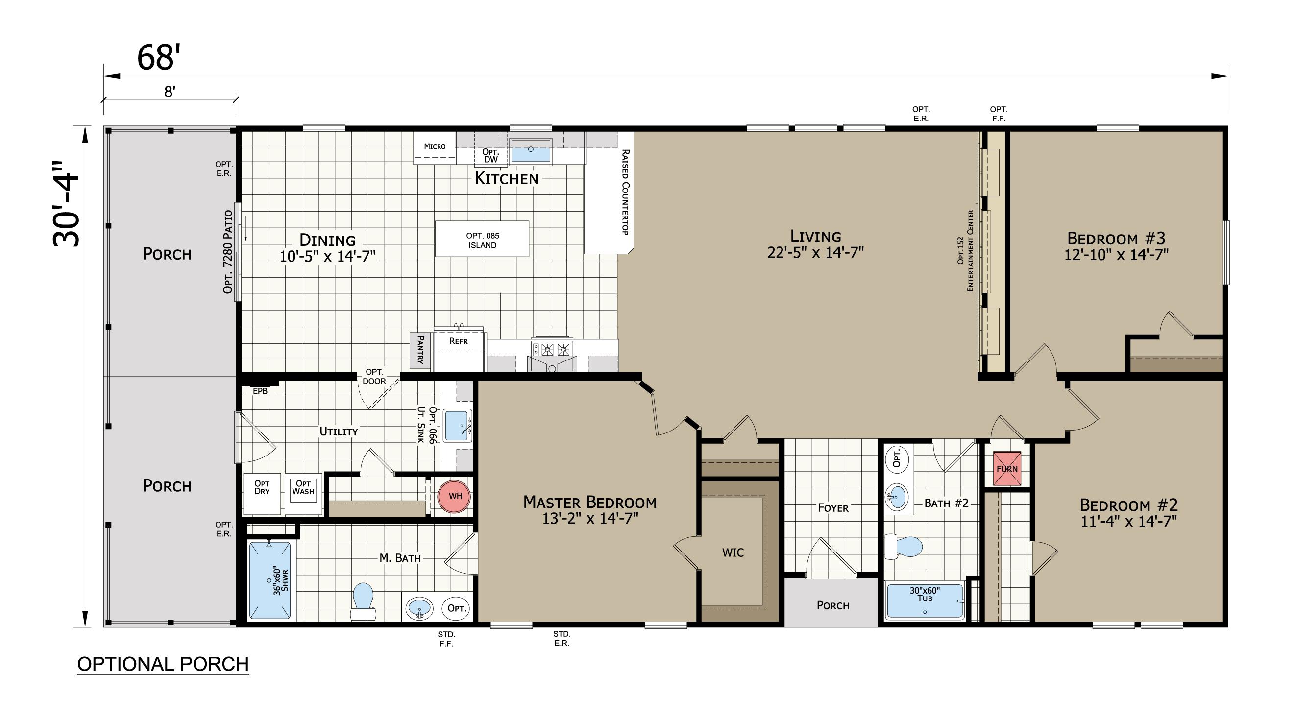 floorplan image for unit 314
