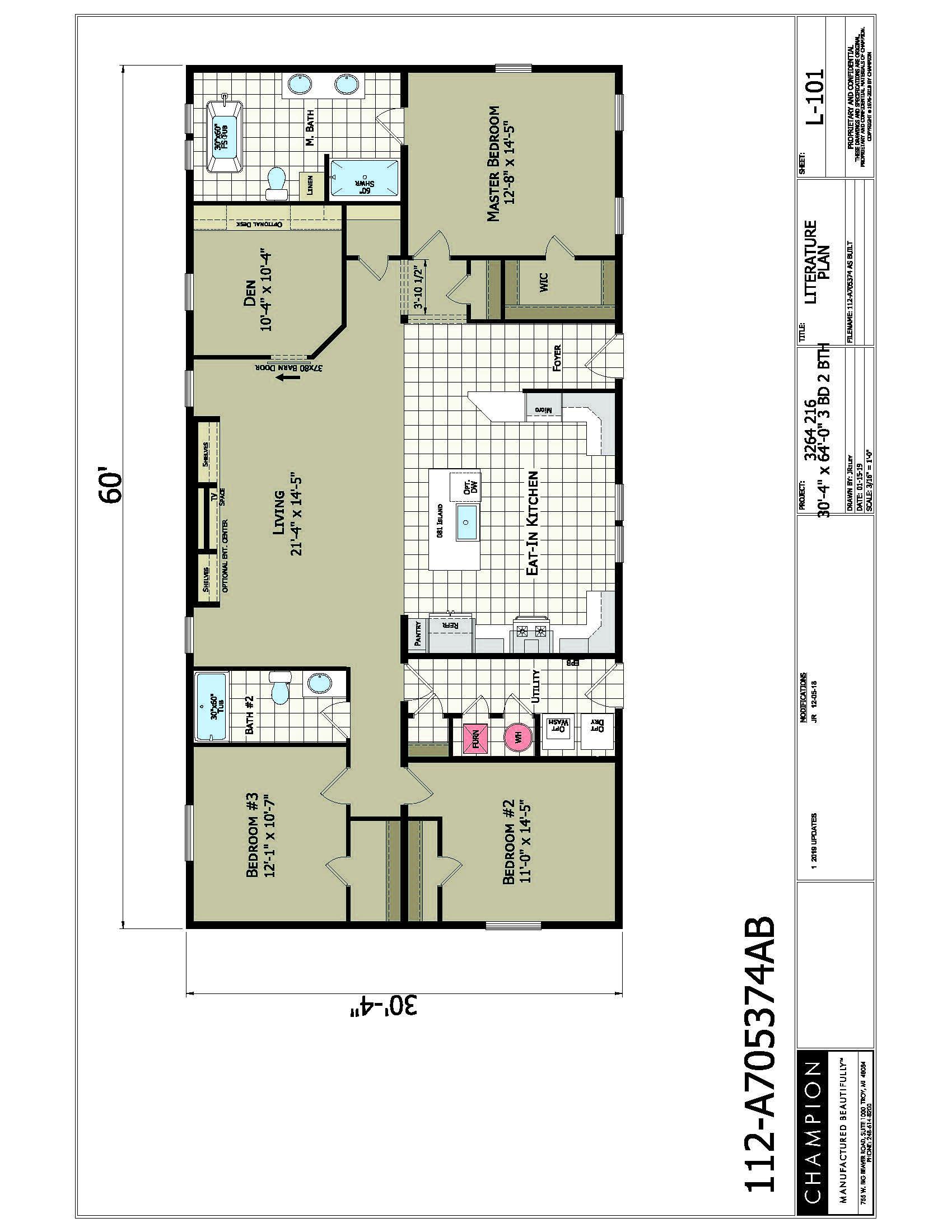 floorplan image for unit 349