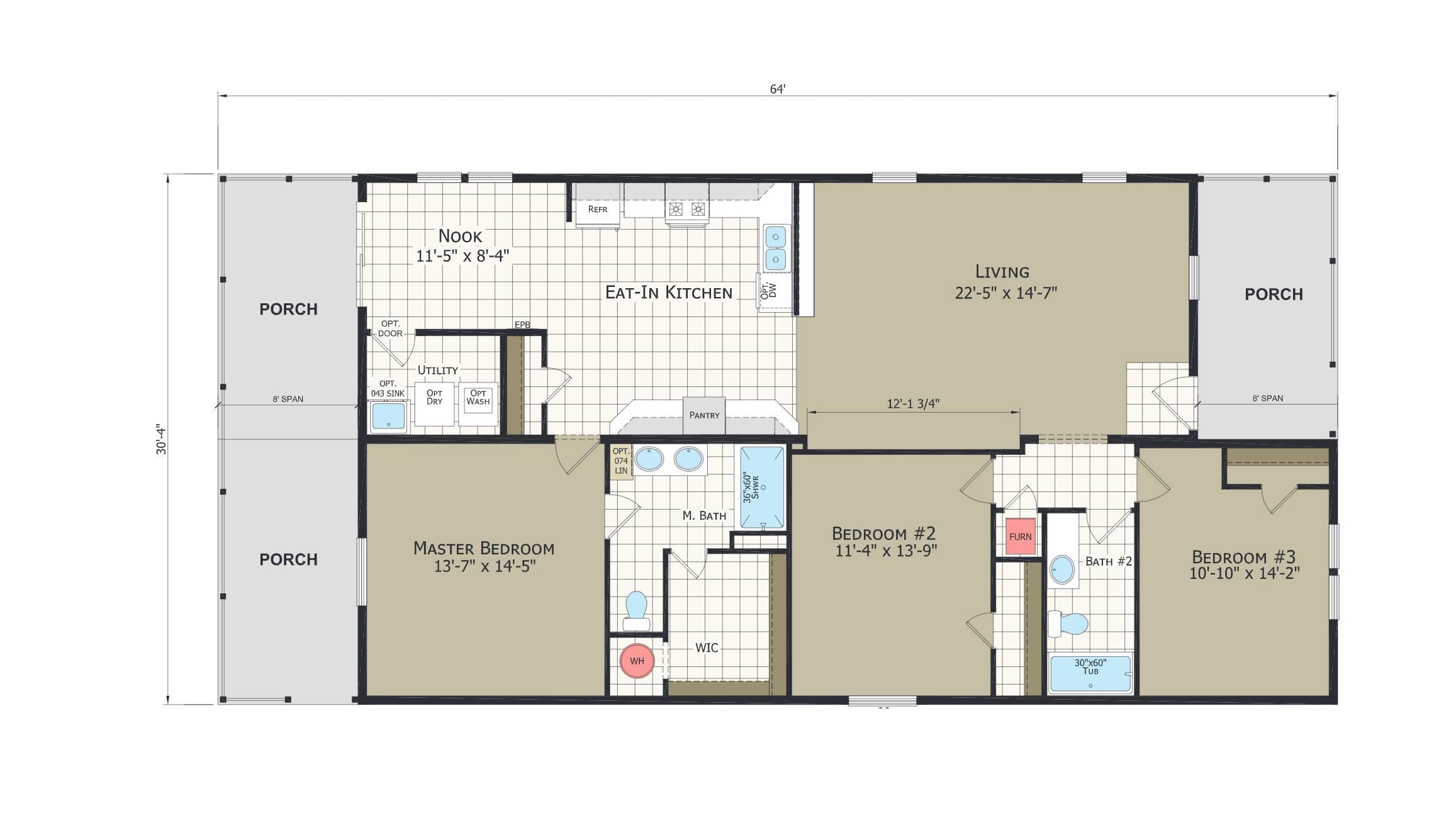 floorplan image for unit 331