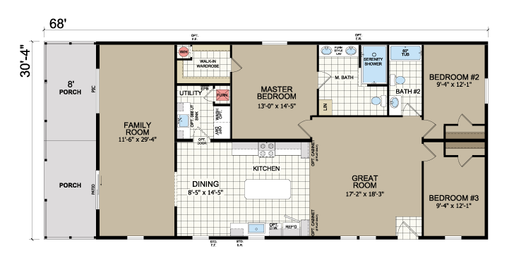 floorplan image for unit 315