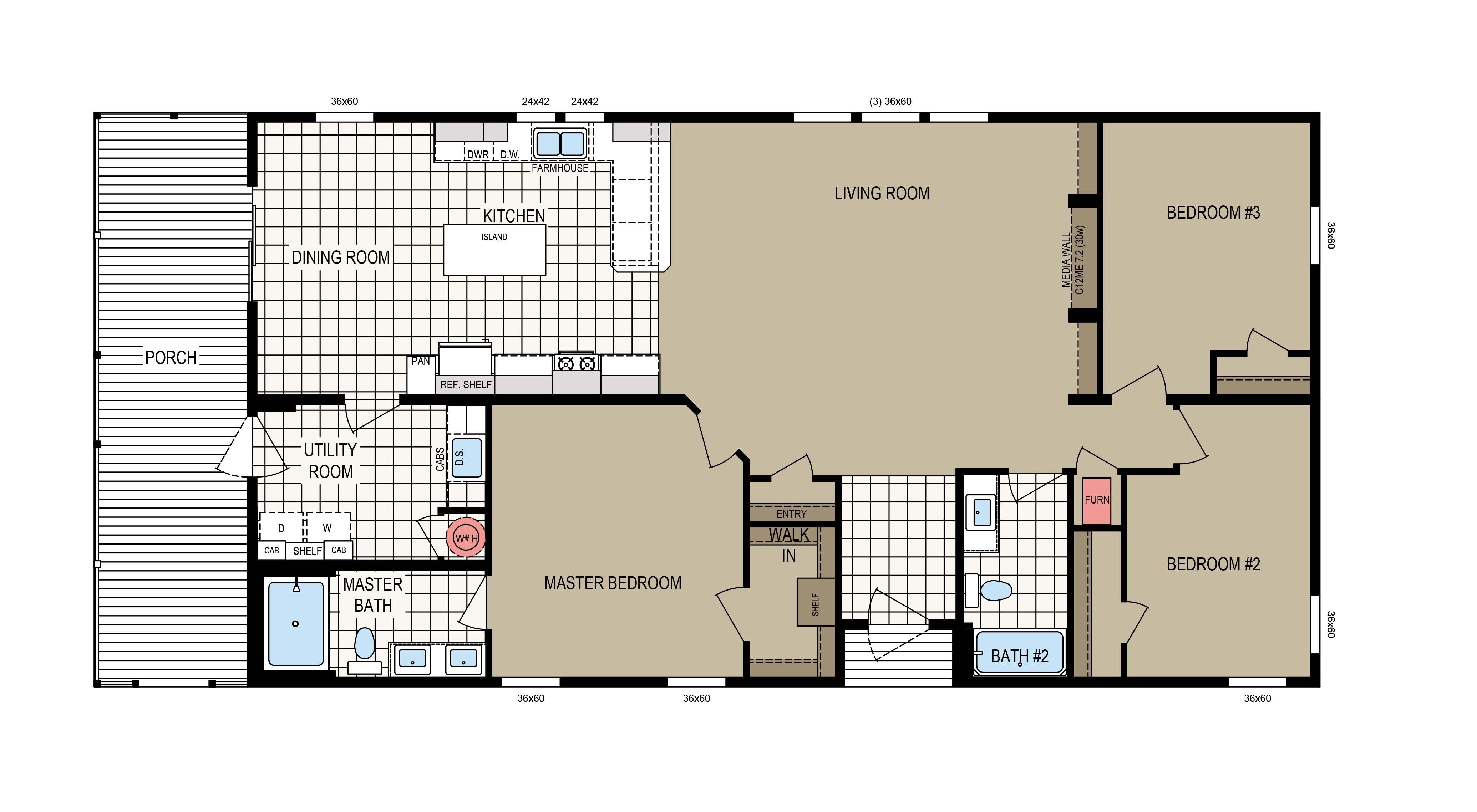 floorplan image for unit 312