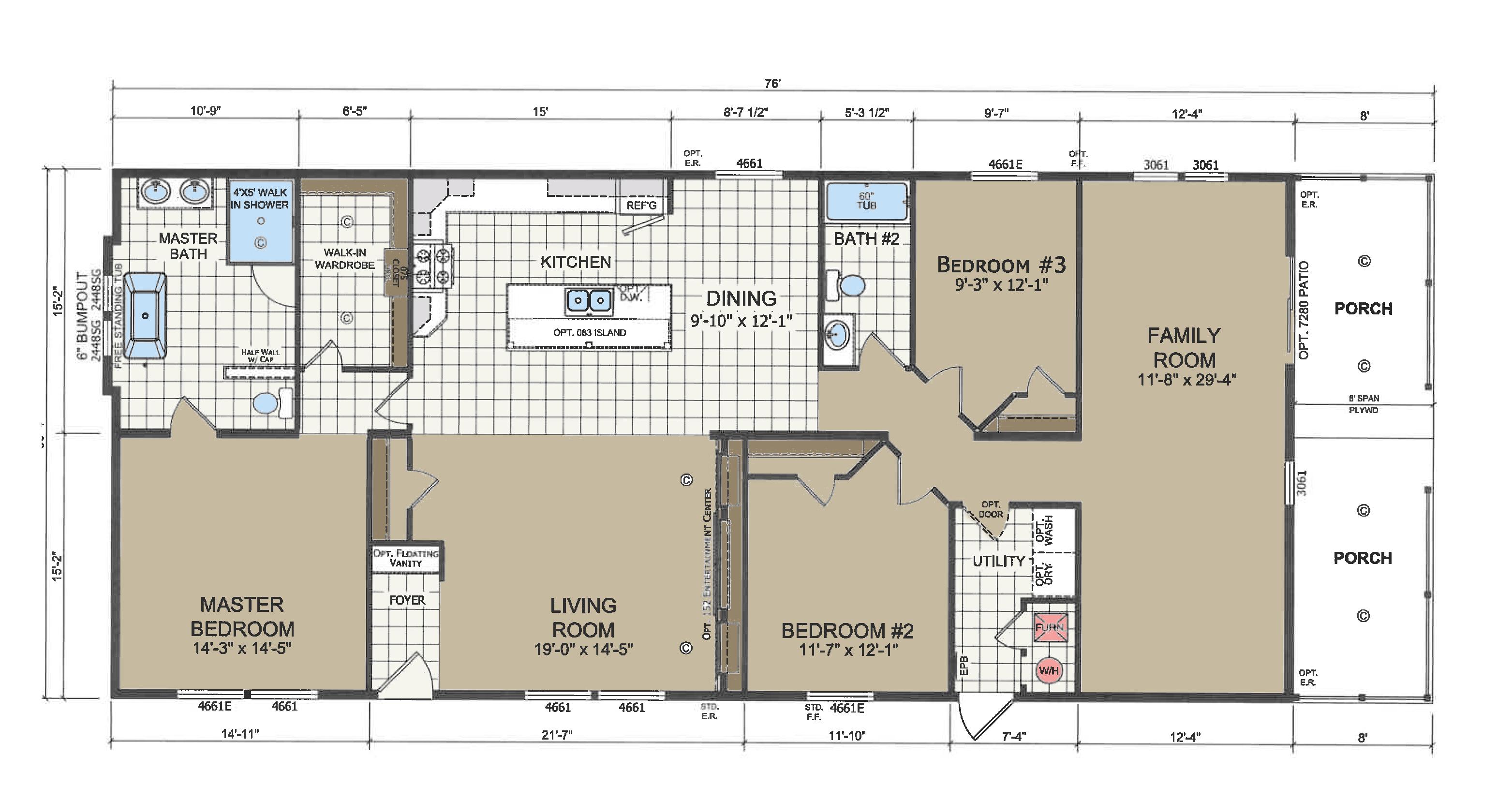 floorplan image for unit 348
