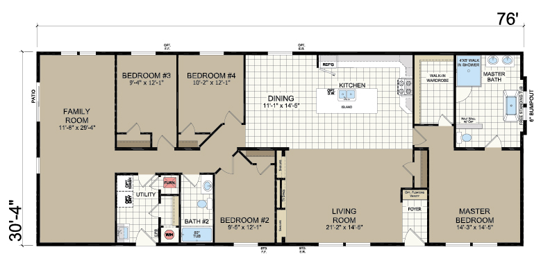 floorplan image for unit 347