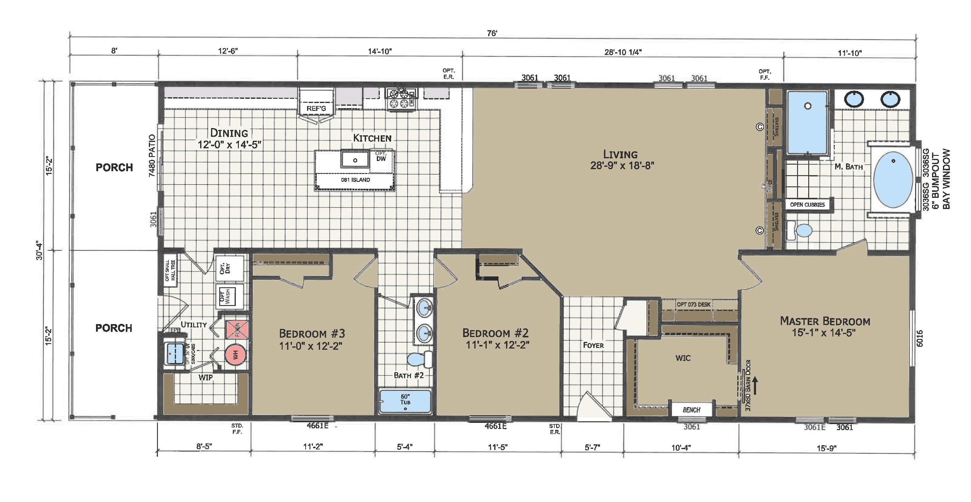 floorplan image for unit 371