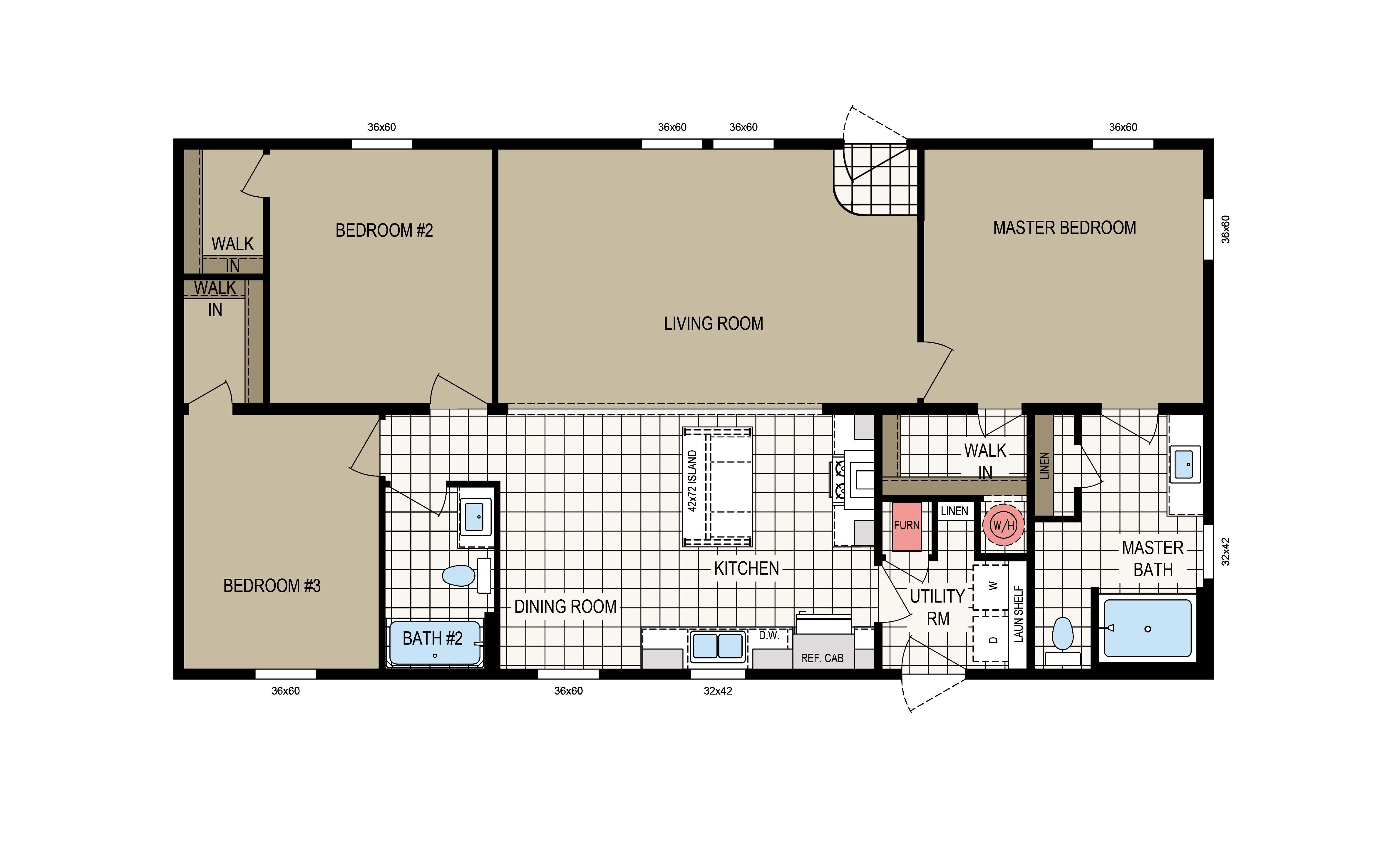 floorplan image for unit 395