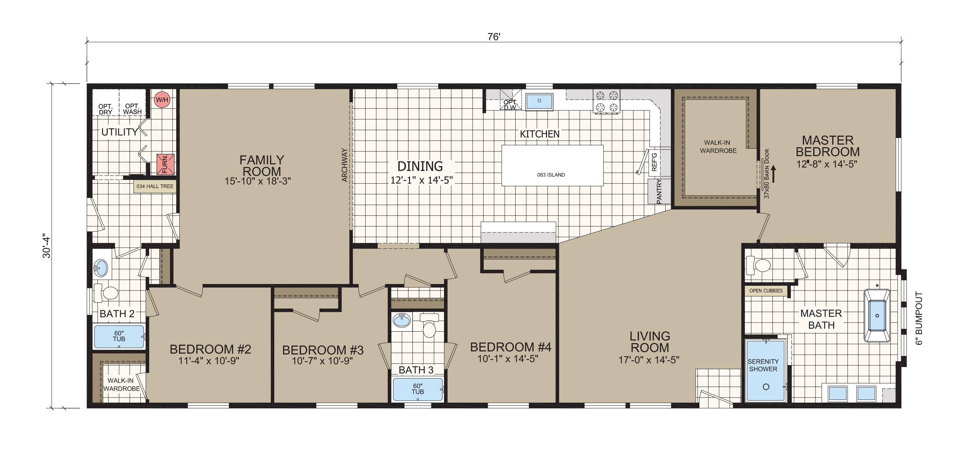 floorplan image for unit 398
