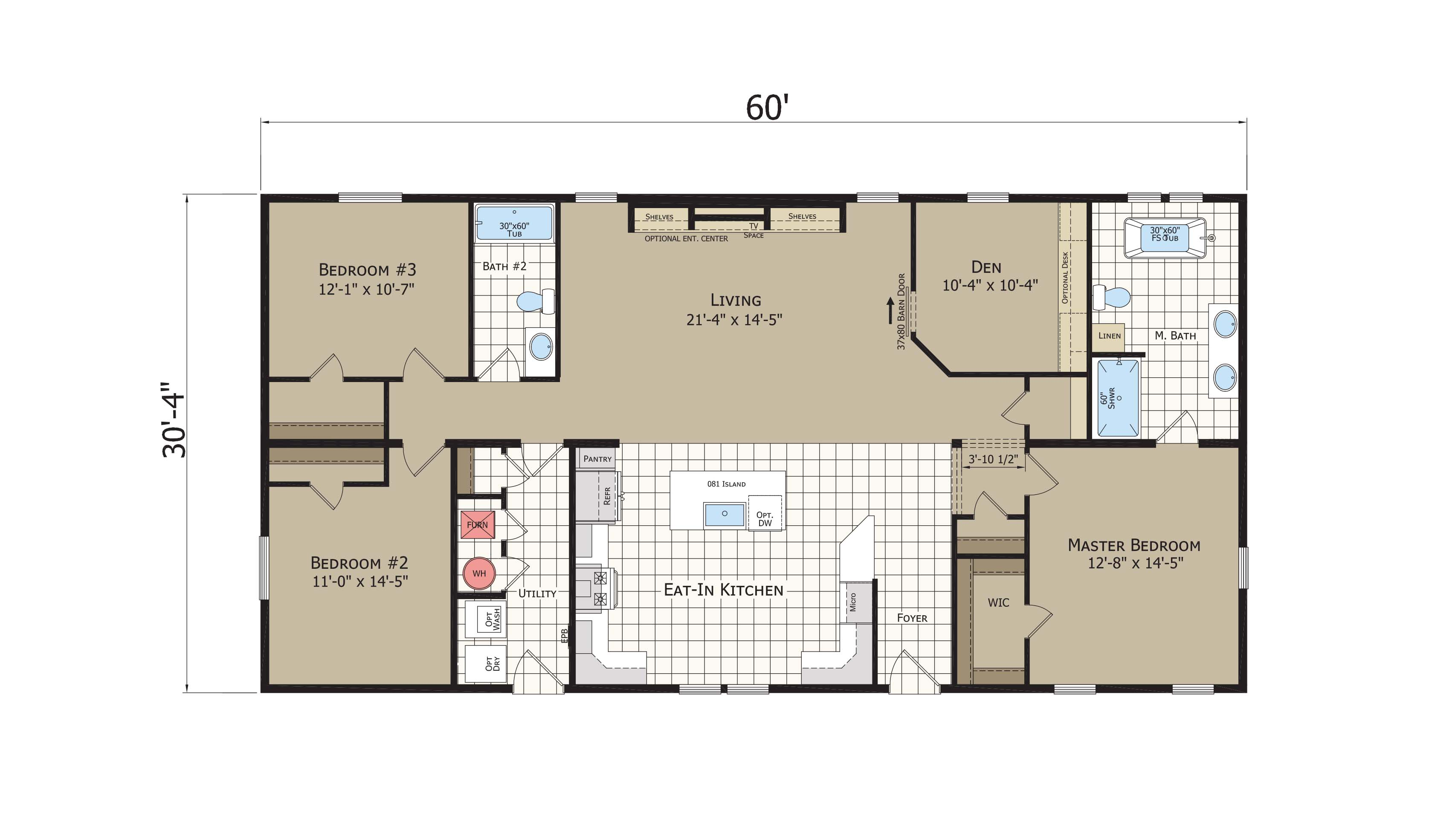 floorplan image for unit 349
