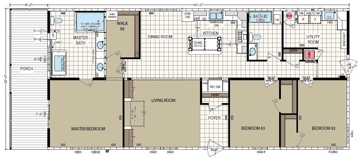 floorplan image for unit 318