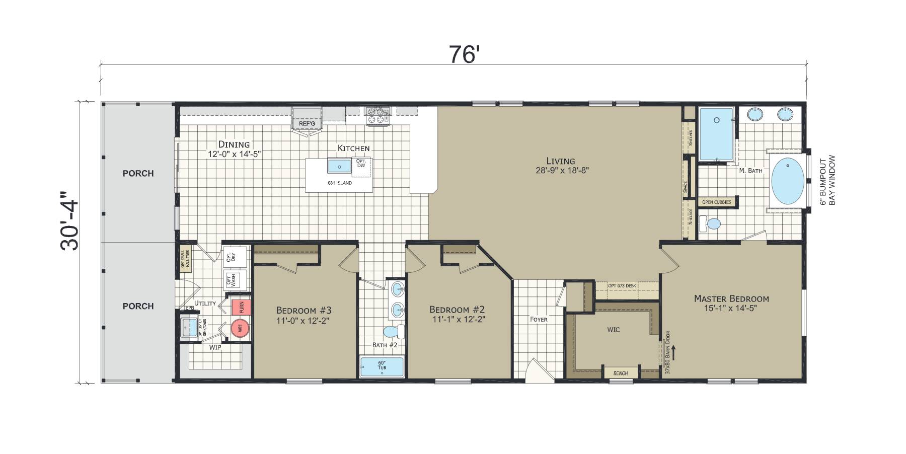 floorplan image for unit 330