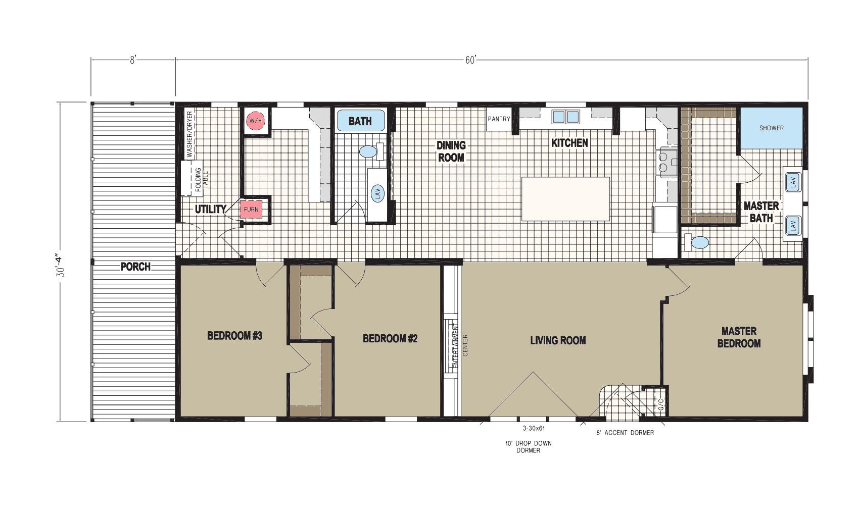 floorplan image for unit 323