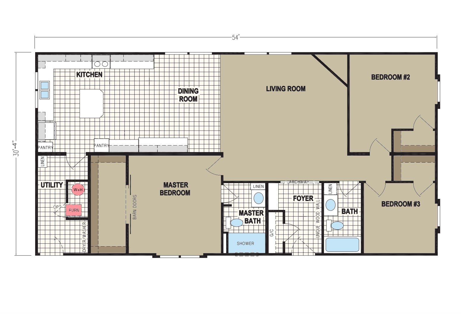 floorplan image for unit 325