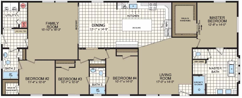 floorplan image for unit 313