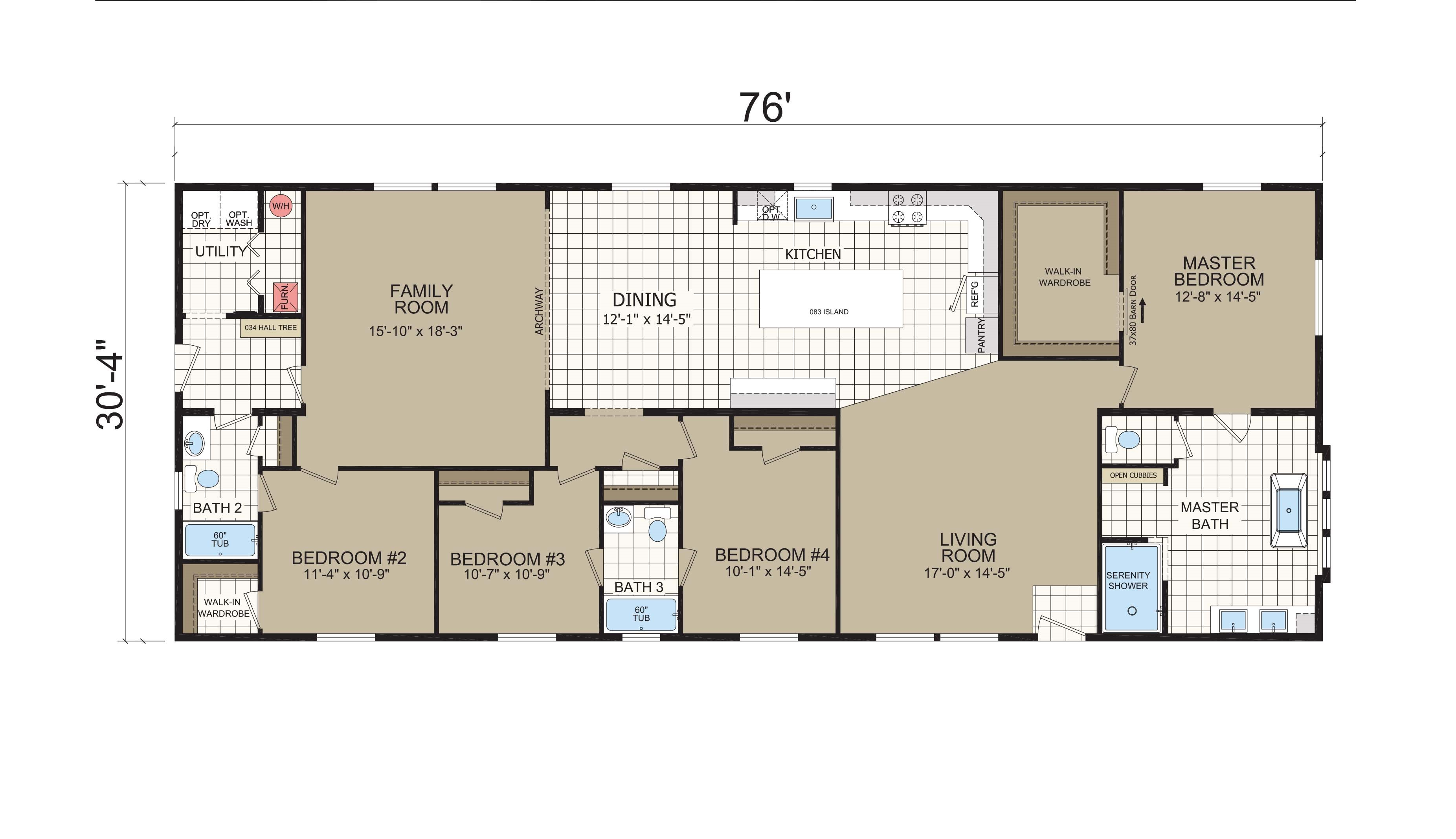 floorplan image for unit 391