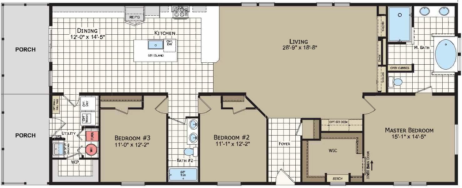 floorplan image for unit 330