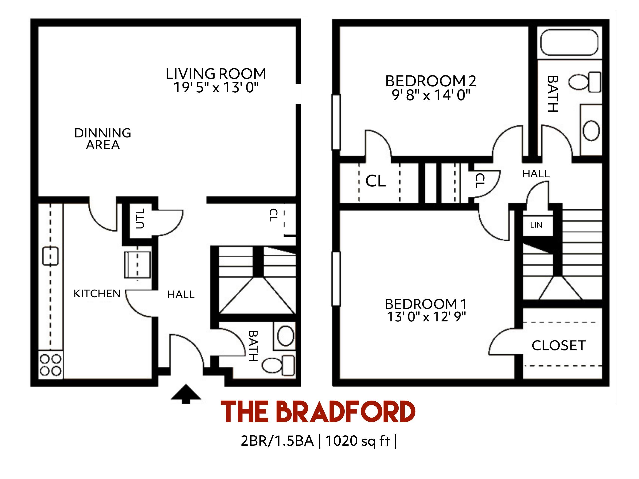 The Bradford Floorplan
