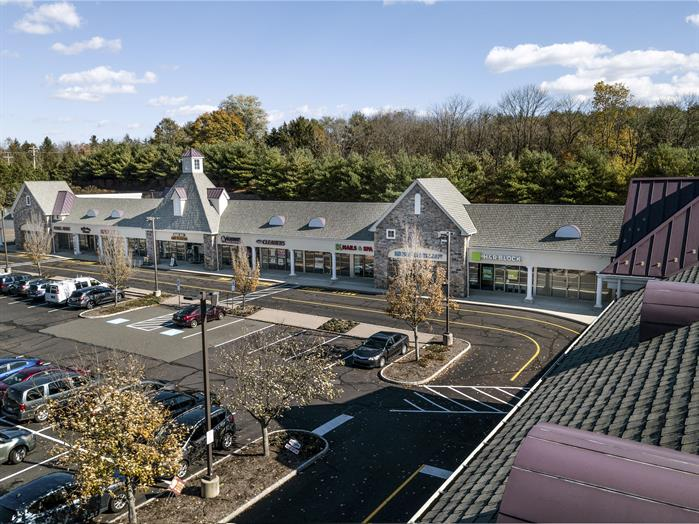 Shelly Square Shopping Center Exterior