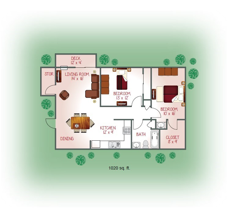 2200-04 Floorplan