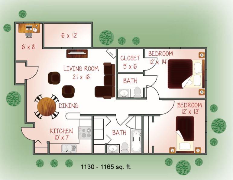 450-06 Floorplan