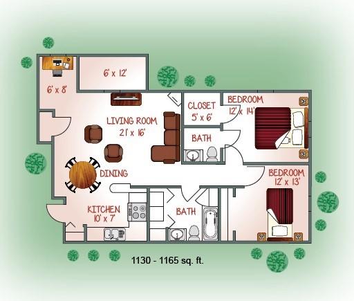 1632-06 Floorplan