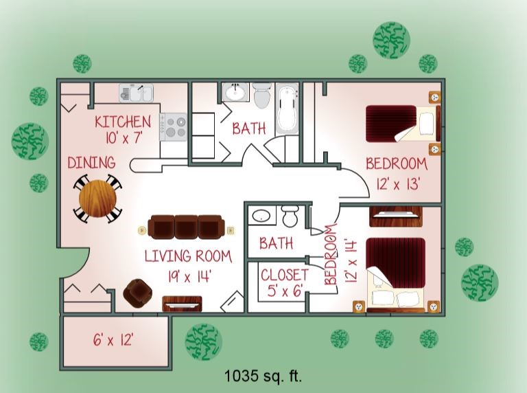 641-02 Floorplan
