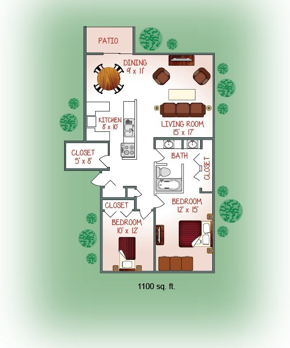 900-01 Floorplan