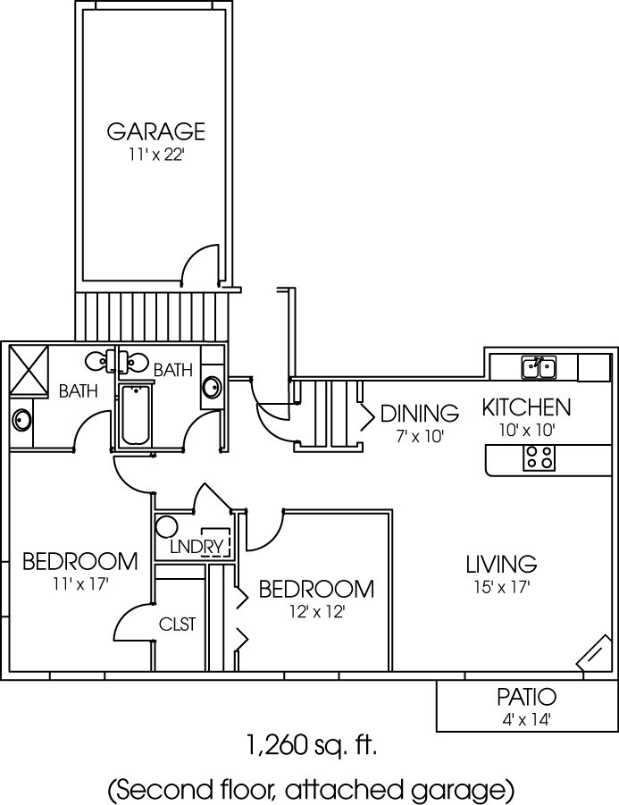 1955-03 Floorplan