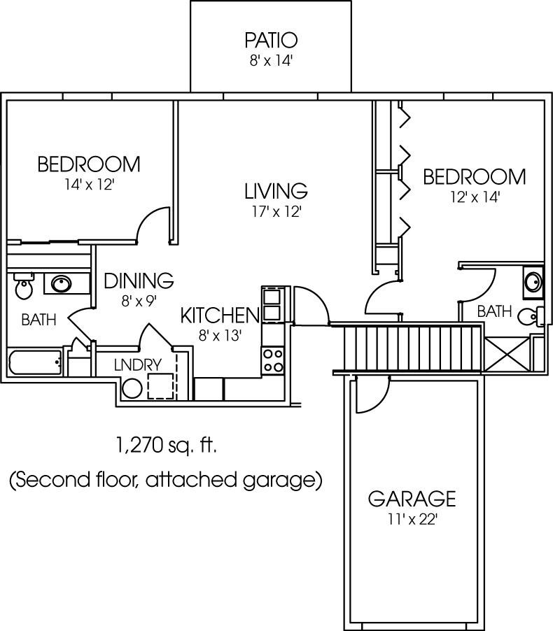 1957-10 Floorplan
