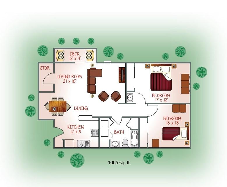 2881-14 Floorplan