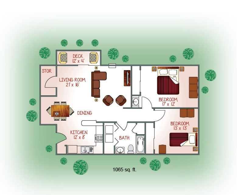 2881-03 Floorplan