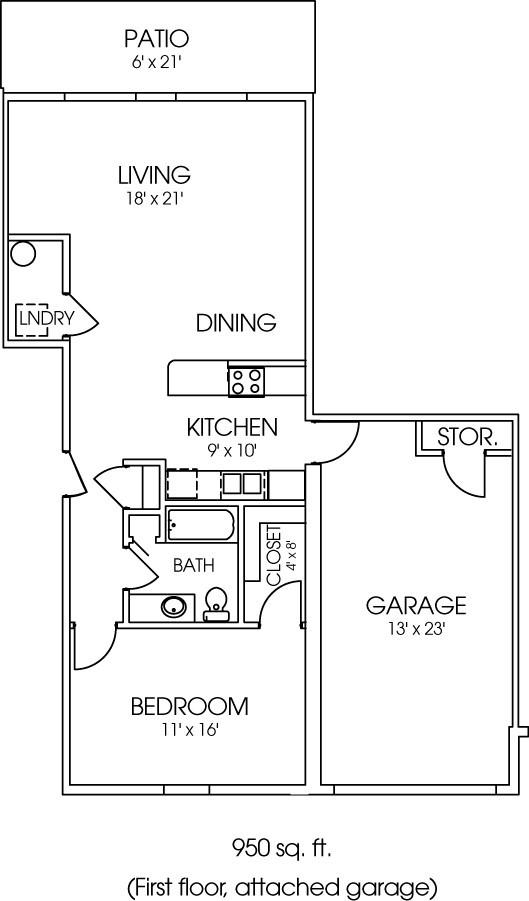 1965-05 Floorplan