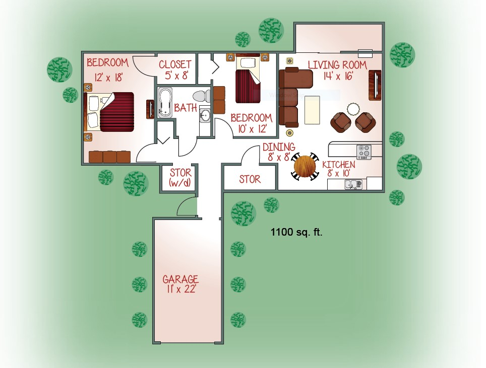 710-03 Floorplan