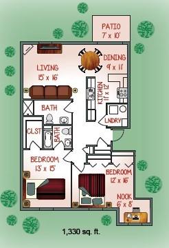 1631-08 Floorplan